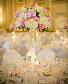 Farben wiederholen sich auf dem Tisch... Und Hortensien :)