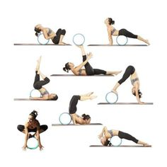 Reehut-Yoga-Wheel-12-6-034-x-5-034-Strong-Premium-Back-Roller-and-Stretcher-with