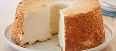 Secrets to Angel Food Cake. What sounds DIVINE, is angel food cake with cheesecake filling! Like the pie crust lightly mixed into the cream cheese filling. Smack dab in the middle of the Angel Food Cake. Angle Food Cake Recipes, Easy Cake Recipes, Dessert Recipes, Angel Food Cake Pan, Angel Cake, Americas Test Kitchen, Chiffon Cake, Let Them Eat Cake, Baked Goods