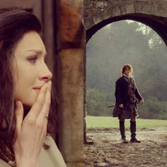 "Claire Randall (Caitriona Balfe) in Outlander Season Two Finale ""Dragonfly in Amber"""