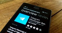 Telegram1 Telegram brengt officiële app uit voor Windows Phone