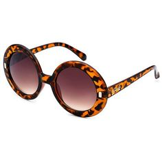 2 Pairs: Giselle Retro-Inspired Round Sunglasses at 76% Savings off Retail!