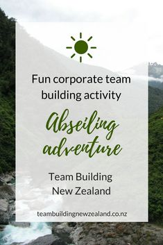 Abseiling Adventure - Team building exercises and leadership training activities in New Zealand. Abseiling adventure is a fantastic journey with breathtaking views. A great memory for any team with lessons of trust, strength, fellowship and leadership. Get in contact with Team Building New Zealand to make your next corporate event one to remember! teambuildingnewzealand.co.nz Phone: +61 410 645 728 #teambuildingactivities #leadership #newzealand #adventure #teams #workplace #office
