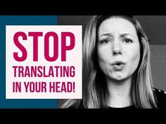 How To Think In English | Advice From Personal Experience - YouTube