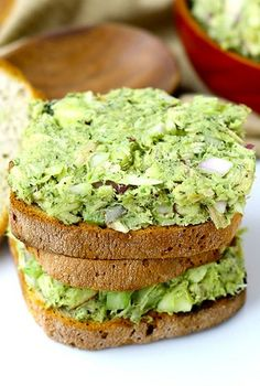 Avocado Tuna Salad   Cookboum. Can't wait to try this!