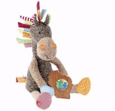 Horse Plush Gift Set