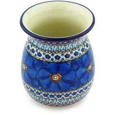 Polish Pottery 5-inch Vase   Boleslawiec Stoneware   Polmedia H4172G   Polmedia