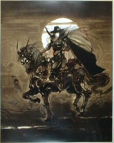 【FF・ファイナルファンタジー】絵師・天野喜孝のイラスト壁紙画像まとめ(291枚) - NAVER まとめ