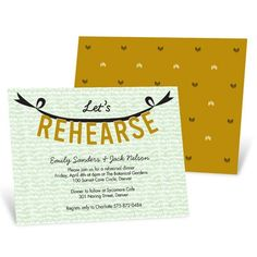 New Rehearsal Dinner Invitations from @Pear Tree Greetings! Whether it's a formal dinner or a backyard BBQ, we have an invitation to set the mood. #rehearsaldinnerinvitations #weddingideas #peartreegreetings