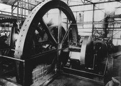 Maquina de vapor, Central Machete, Guayama, P.R.