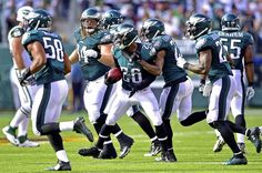 Grade the Eagles' win over the New York Jets Eagles Win, Fly Eagles Fly, Philadelphia Eagles Game, Game Live Stream, Nfc East, Games Today, New York Jets, Football Helmets, Nfl