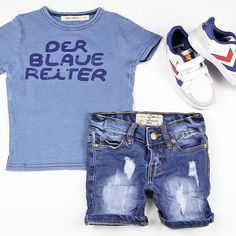 Outfit ideas with our freshly stocked #topseller #idigdenim Denton shorts // FYI lots more new I dig denim available either this evening or tomorrow - #staytuned // #bobochoses #derblauereiter tee and our #Hummel kids trainers (limited sizes) www.hipkin.com.au  #Hipkin #hipkinkids #kidsfashion #unisex #boystyle #shoponline #blue #ministyle #kidsdenim #quality