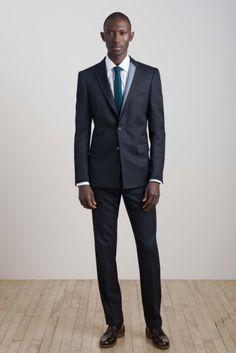 Armando Cabral for Oumlil Fall/Winter 2013 - Model from Guinea-Bissau