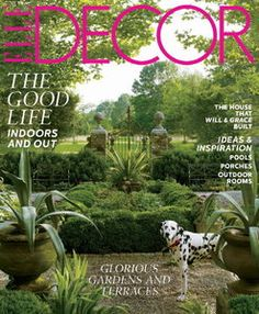 ELLE Decor - May 2012 / USA - Symmetry in the garden
