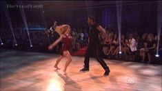 tWitch and Allison Holker with Lindsey Stirling on DWTS | Things like this make me wish I could dance. Really dance.