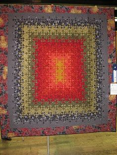 wishes, true and kind: Blooming Nine Patch seen at a 2010 quilt show