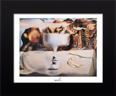 Apparition of Face and Fruit Dish on a Beach By Salvador Dali: Category: Art Currency: GBP Price: Retail Price: Surrealism… Salvador Dali, Wooden Wall Art, Canvas Wall Art, Framed Canvas, Framed Art Prints, Poster Prints, Beach Posters, Fruit Dishes, Knives