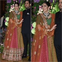 Lehenga Color Combinations, Indian Fashion, Style Fashion, Fashion Beauty, Bollywood Fashion, Bollywood Style, Sangeet Outfit, Groom Outfit, Mehndi