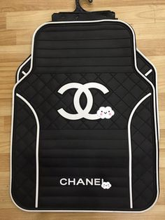 Buy Wholesale Chanel Genenal Automotive Carpet Car Floor Mats Rubber Sets - Black White from Chinese Wholesaler