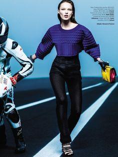 Naty Chabanenko by J.R. Duran for Vogue Brazil July 2013
