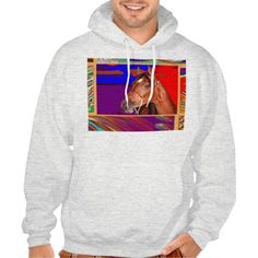 Art for HORSE Sense Basic Hooded Sweatshirt  Enjoy