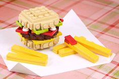 ...to a fast food combo meal... | 21 Whimsical LEGO Creations By Chris McVeigh
