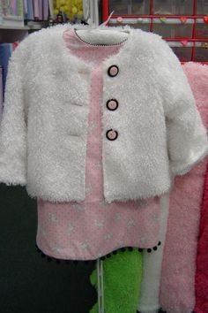 poodle cloth jacket PeauntButter-n-JellyKids.com; I know some little girls who would love this