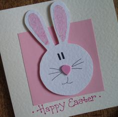 Easter Bunny, Easter card.