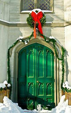 Holiday door..