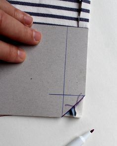 Ruckzuck, Briefecken, Servietten mit Ruckzuck-Briefecken