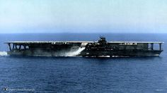 "IJN Aircraft Carrier, ""Kaga"" of the Japanese Imperial Navy. 日本海軍航空母艦-加賀"