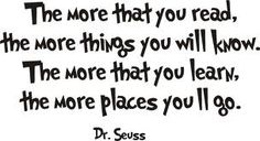 seuss read quotes - Google Search