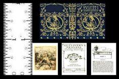 1-12-SCALE-MINIATURE-BOOK-GULLIVER-S-TRAVELS-ARTHUR-RACKHAM