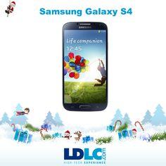 Grand jeu de Noël LDLC ! Vous avez voté pour : Samsung Galaxy S4 : http://www.ldlc.com/fiche/PB00146354.html  RDV le 27/11 pour vous inscrire à notre grand jeu de Noël !