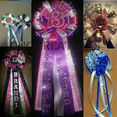 Celebration pins/ corsages