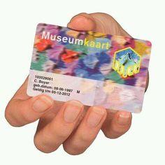 Museumjaarkaart, zodat ik regelmatig naar tentoonstellingen kan gaan