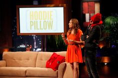 Rebecca Rescate of CitiKitty fame is the first entrepreneur to appear on Shark Tank a second time with a different product: The Hoodie Pillow! Self Reliance, Shark Tank, Tv Shows, The Unit, Pillows, Hoodies, Cool Stuff, Gift Ideas, Sweatshirts