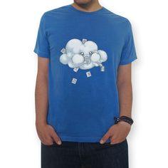 Camiseta Cloud Storage de @spookylili | Colab55