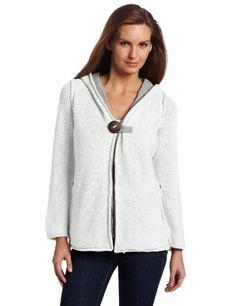 Pure Handknit Women`s Studio Classic Hoodie Sweater $106.00