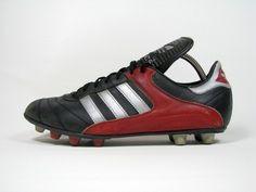 vintage ADIDAS MADRID Football Boots size uk 8 rare OG 80s made in West Germany | eBay