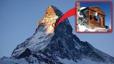Solvay Hut - schronisko na Matterhornie, Szwajcaria