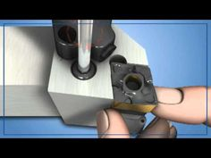 ISCAR New Turning, Grooving and Parting Tools for High Pressure Coolant - YouTube