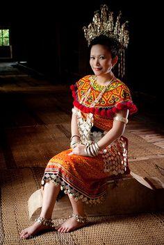 Kuma in Iban Costume Ethnic, Sari, Style Inspiration, Costumes, People, Photography, Inspired, Fashion, Saree