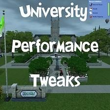 Sims2 university performance bar?