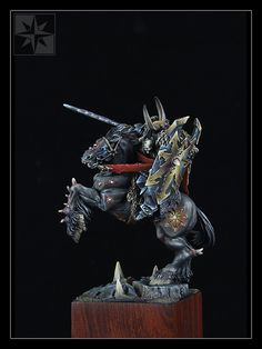The Internet's largest gallery of painted miniatures, with a large repository of how-to articles on miniature painting Warhammer Art, Warhammer 40k Miniatures, Warhammer Fantasy, Fantasy Battle, Art Station, Fantasy Miniatures, Colour Schemes, Knights, Painting Inspiration