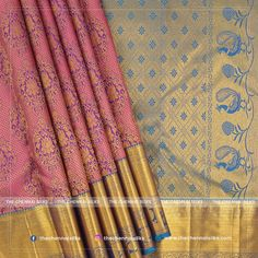 This Vivaha Exclusive pure silk saree is what you need to bring shine to auspicious events make you gorgeous during the wedding with traditional and trend values. Latest Silk Sarees, Soft Silk Sarees, Silk Sarees Online, Wedding Silk Saree, Weaving Designs, Kanchipuram Saree, Tatting, Hand Weaving, Collections