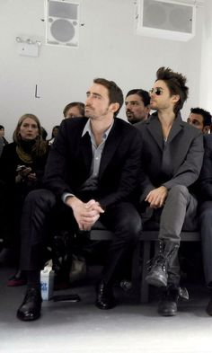 Jared Leto & Lee Pace on the Calvin Klein Men's Collection.