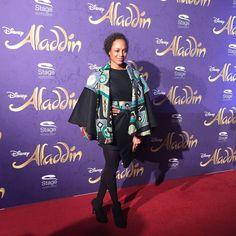 Milka Loff Fernandes auf der Premiere von Disneys #Aladdin #AladdinHamburg