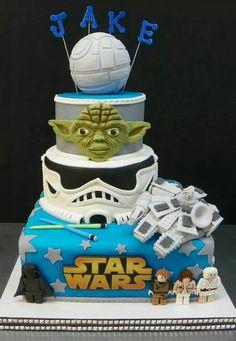 Star Wars Cake - Lego - Birthday cake!