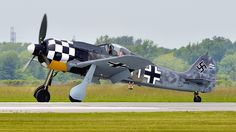 Hamilton Ontario Airshow - Military Aviation Museum - Focke-Wulf Fw 190 A-8/M replica.. | Flickr - Photo Sharing!